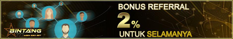 Bonus Referral 2%