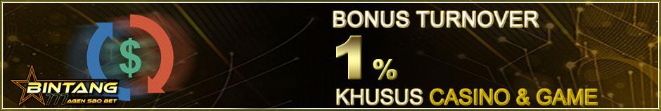 Bonus Turnover 1%