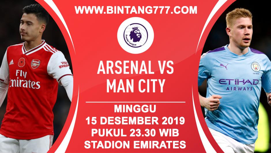 BIG MATCH Arsenal vs Manchester City 15 Desember 2019